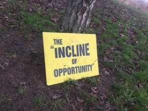Incline of opportunity