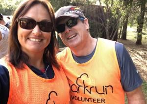 Happy volunteers at Penrith Lakes