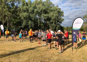 Waiting for the cross country pre-run brief