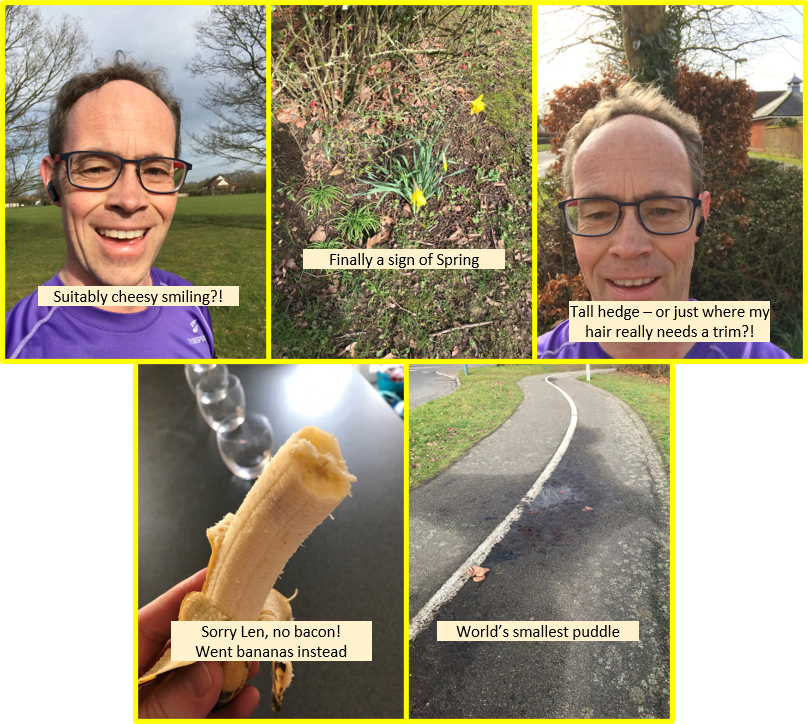 parkrun Treasure Hunt February 20 2021