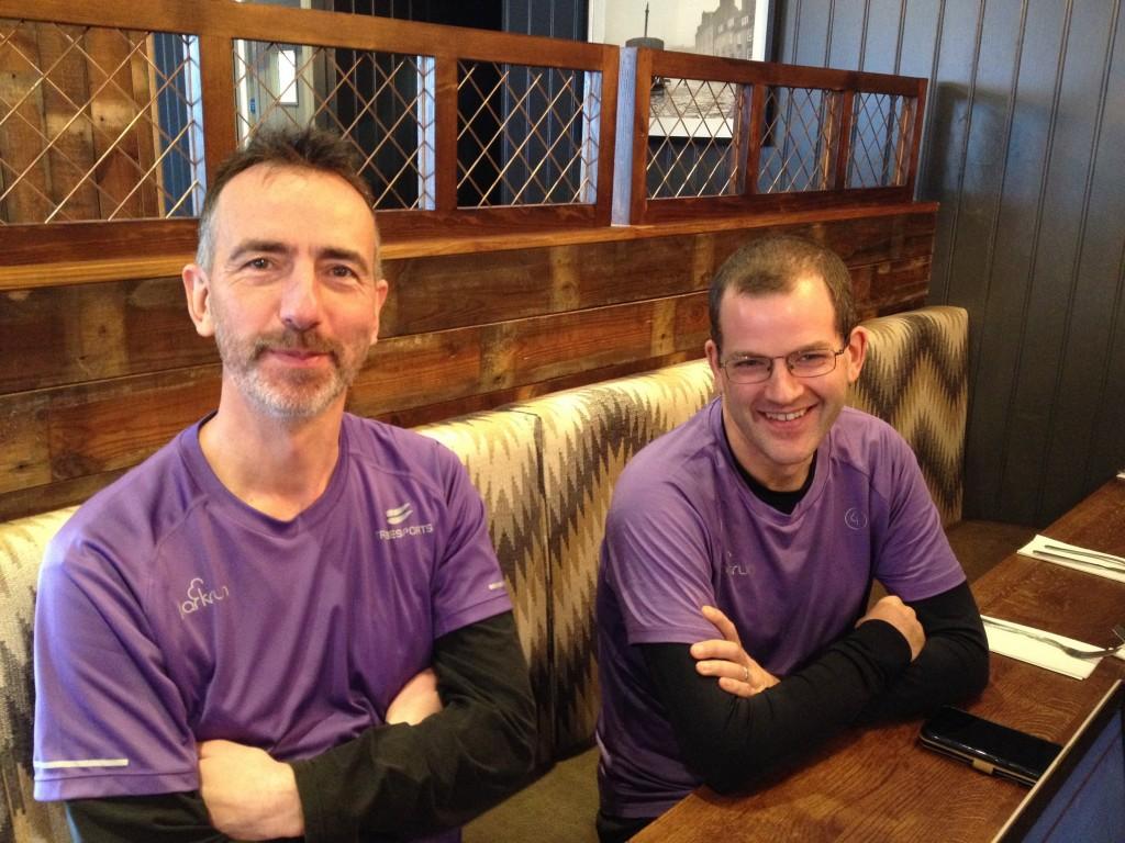 Team Purple Bryan & Mark