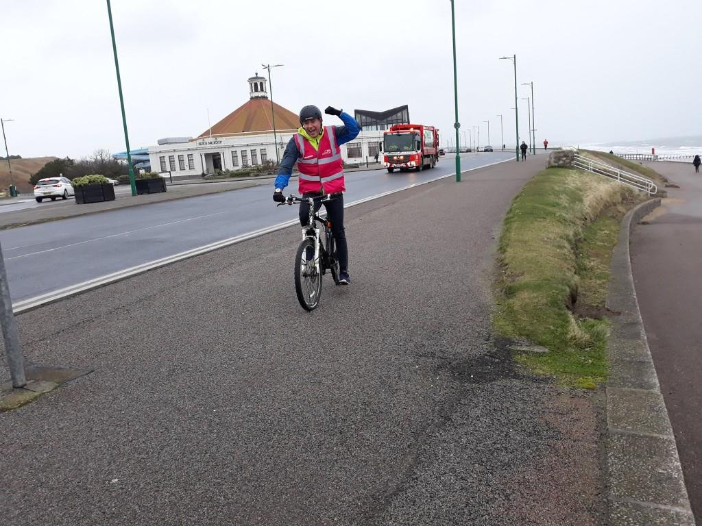 13. Lead Biker Jamie