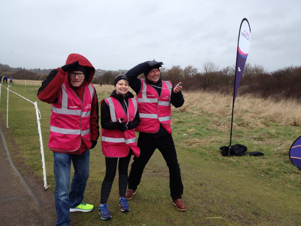 8. Pink Hams _ Funnel Manager Alan,& Timekeepers Fiona & Alan