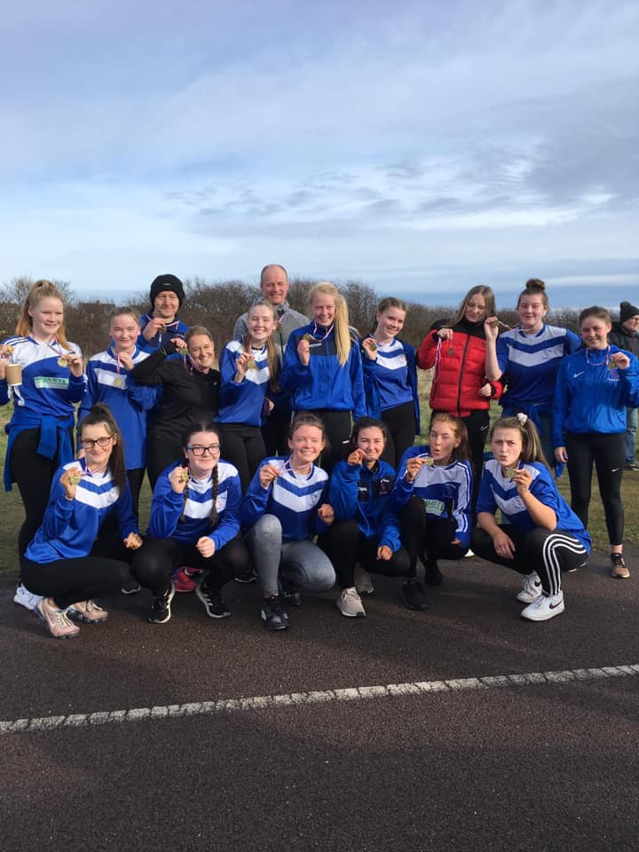 2. Cove Youth Football Team's U16 Girls