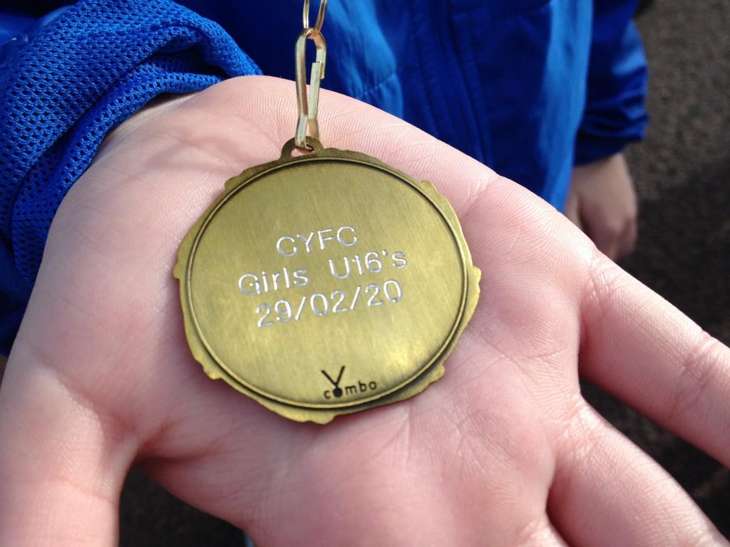 3. CYFC's 5k Medal