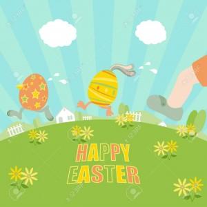 Ester eggs running