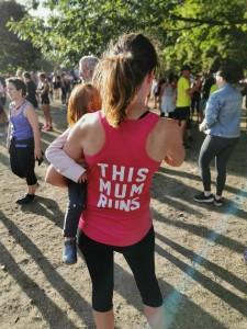 mum runs