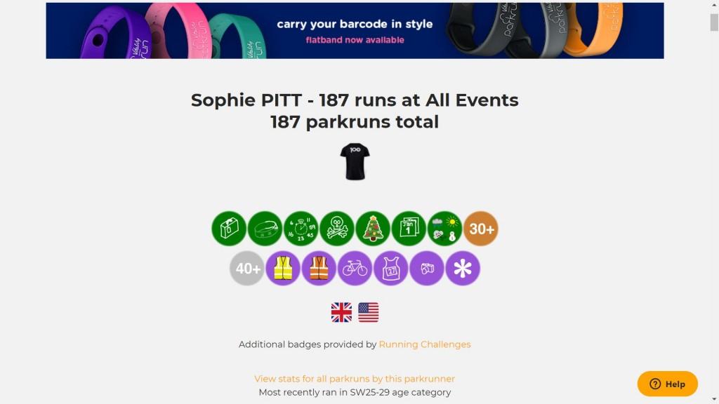 Sophie Pitt challenge