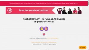 rachel ripley running challenges