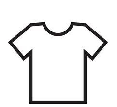 tshirt-outline-icon-modern-minimal-260nw-382043695