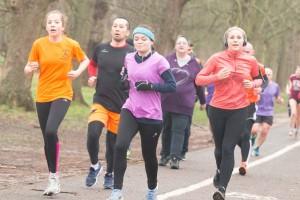 Female runners