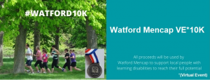 Watford 10k virtual run