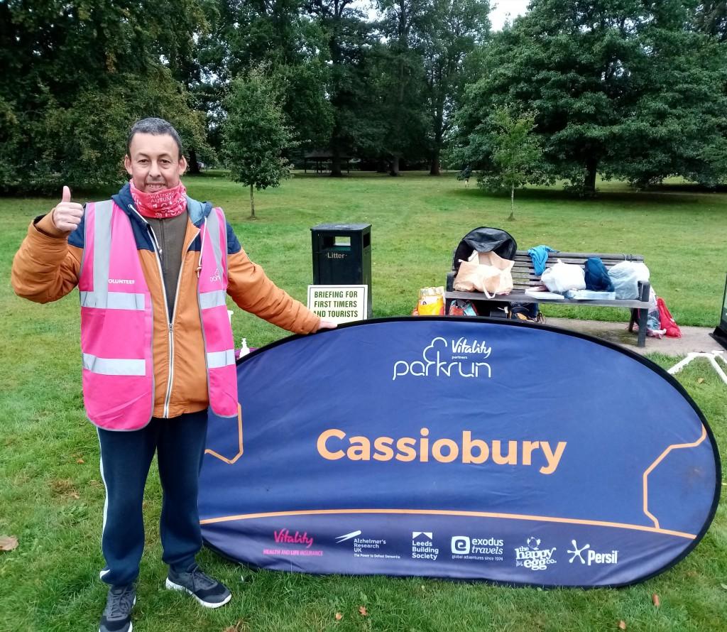 2021-10-02 James M 50 volunteers at Cassiobury