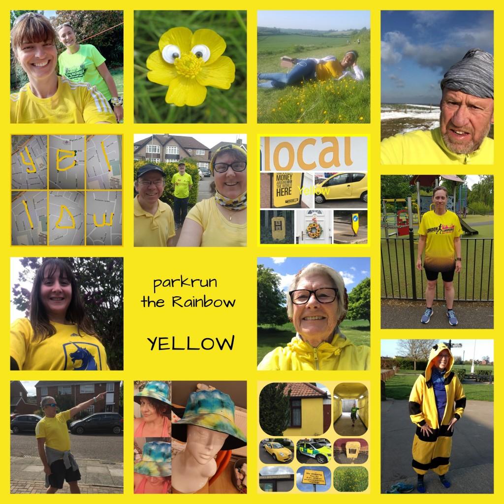Rainbow - Yellow