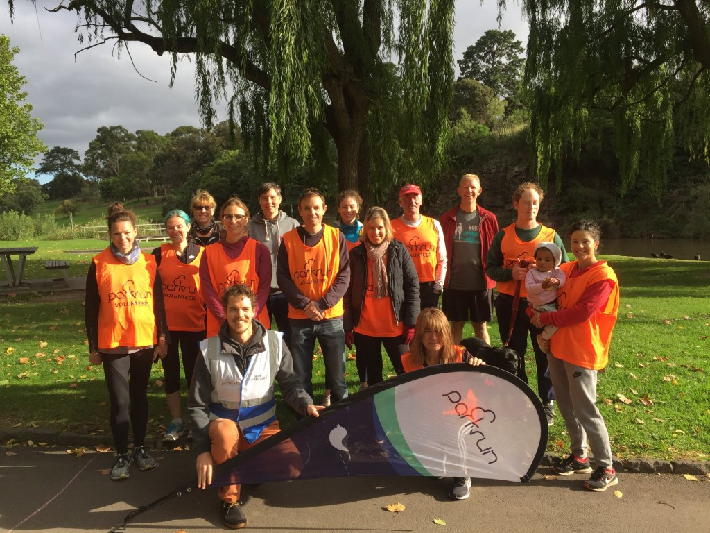Coburg Harriers Volunteer Take-over