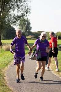 hand in hand parkrunners
