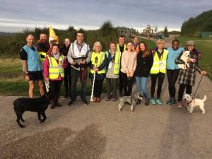 Our fantastic volunteer team.