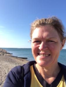 Lee on Solent parkrun selfie 130719