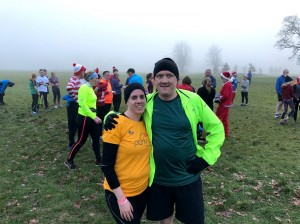 Doing their 100th different parkrun