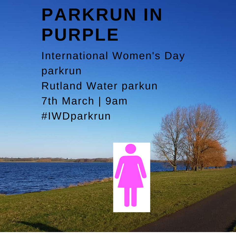 parkrun in purple