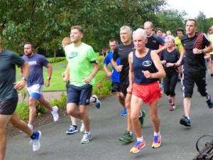 Start of run 300