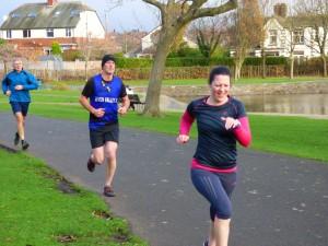 Sarah Bouffler - 250th run