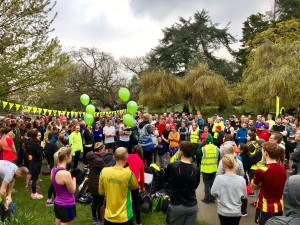 Dulwich parkrun briefing
