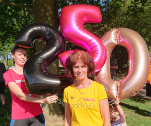 Ann Quinn's 250th Parkrun
