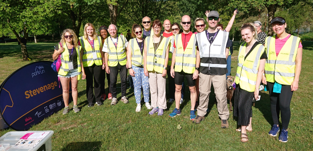 Parkrun 1st June 2019 volunteers