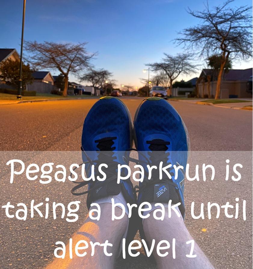 Pegasus parkruns pause