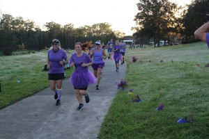 purple parkrunners