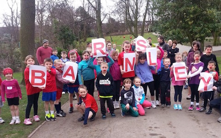 Barnsley junior parkrun
