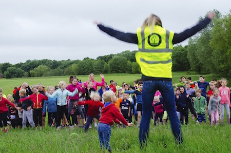 Bromley junior parkrun