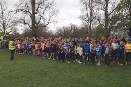 Bushy junior parkrun