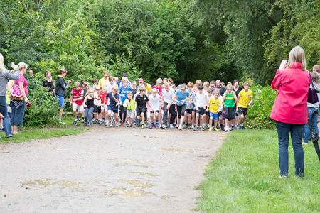 Cambridge junior parkrun