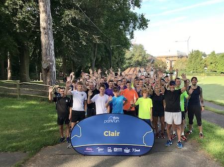 Clair parkrun
