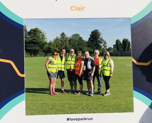 Clair parkrun Volunteers