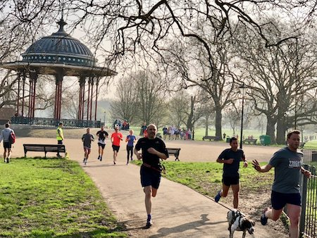 Clapham Common parkrun