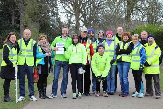 Darlington South Park parkrun Volunteers