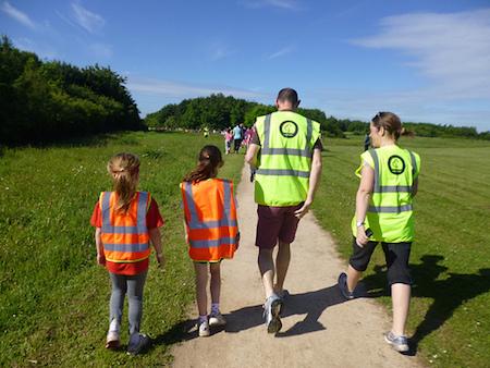 Desborough Green Space junior parkrun Volunteers