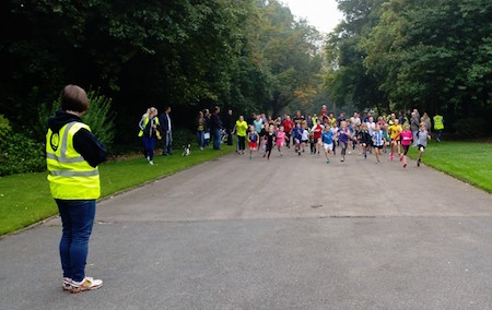 Dewsbury junior parkrun
