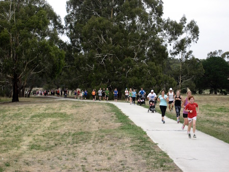 Diamond Creek parkrun