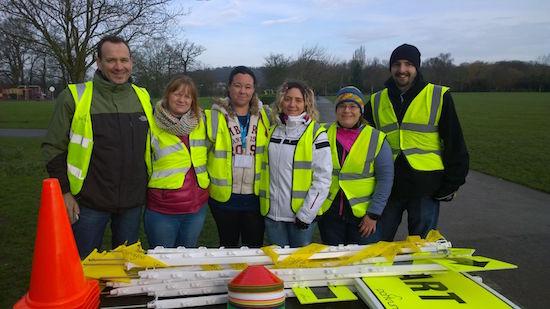 Eltham junior parkrun Volunteers