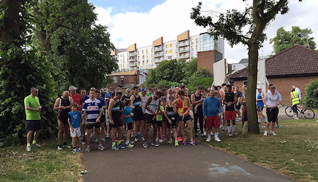 Harrow parkrun