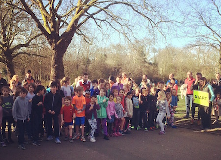 Highbury Fields junior parkrun