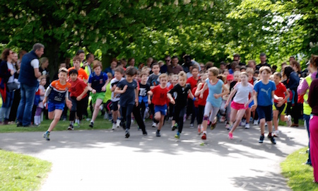 Hilly Fields junior parkrun