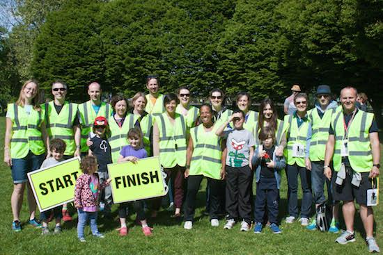 Hilly Fields junior parkrun Volunteers