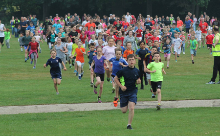 Ipswich junior parkrun