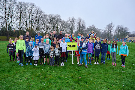 Leavesden junior parkrun