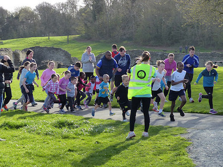 Lesnes Abbey Woods junior parkrun